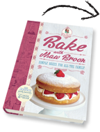 Bake with Maw Broon Recipe book